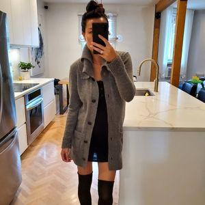 Angora & Wool blend SELECTED (the bay) chunky cardigan